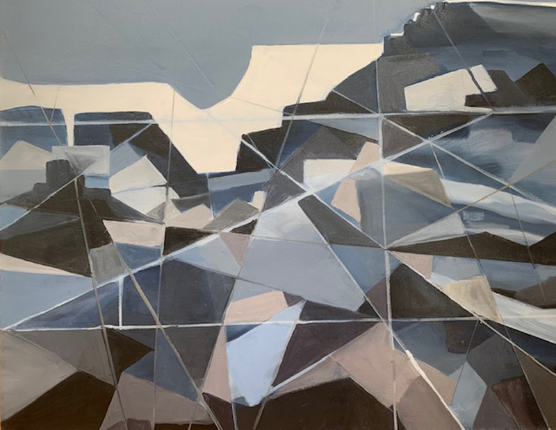 "Ann Armstrong, ""Fractured Tundra"""