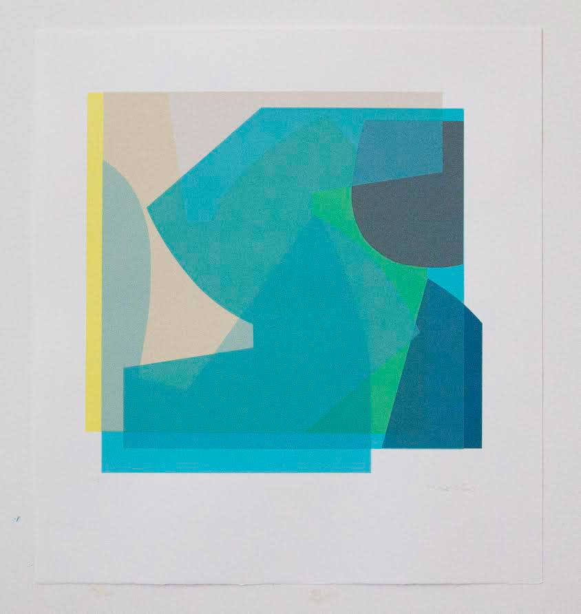 "Mary O' Connor, ""Iceberg II"""