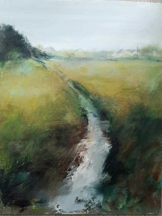 "Maureen Burke, ""Urban Stream"""