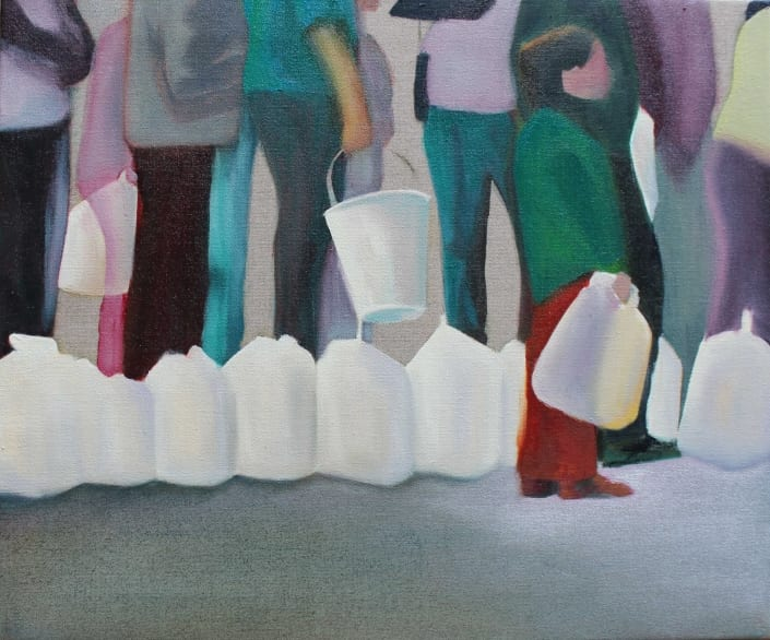 "Michelene Huggard, ""The Water Carriers"""
